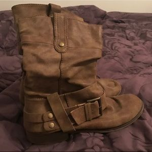 no Name Shoes - Brown Buckle Boot 8