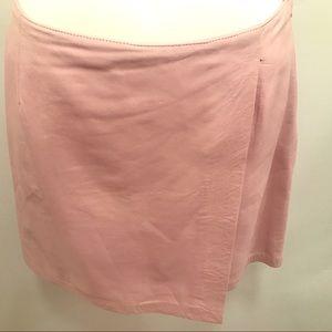 Versus By Versace Dresses & Skirts - Versus Versace Blush Color Leather Mini Skirt