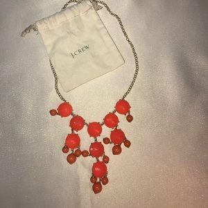 j crew bauble statement necklace