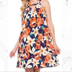 Peach Love California Dresses & Skirts - Gorgeous Floral Print Dress