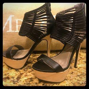 Shoe Republic LA Shoes - Strappy Platform heels