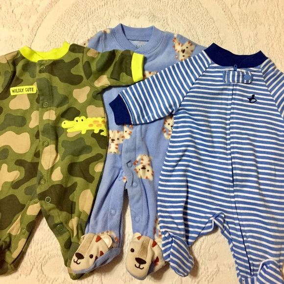 74% off Carter's Other - Stack of 13 Premie Baby Clothes ...