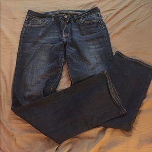 Delia's Mallory Straight Leg Jeans
