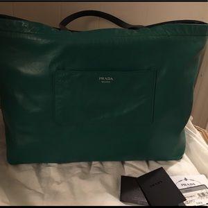 620498b9f857 Prada Bags | East West Reversible Tote | Poshmark