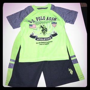 U.S. Polo Assn. Other - Boys U.S Polo Shorts Set