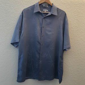 Pierre Cardin Other - Pierre Cardin Blue Ombrè Shirt