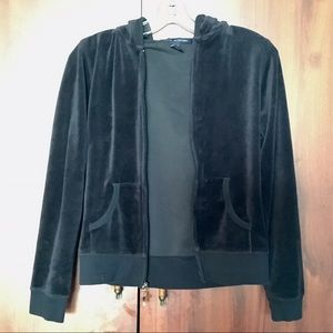 Zenana Outfitters Jackets & Blazers - ✨Like New✨ Zenana Outfitters velour hoodie - small