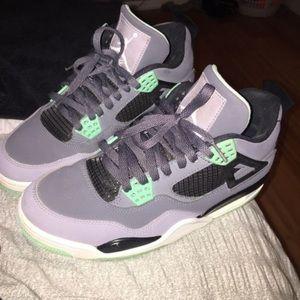 "Jordan Other - Jordan Retro 4 ""Green Glow"""