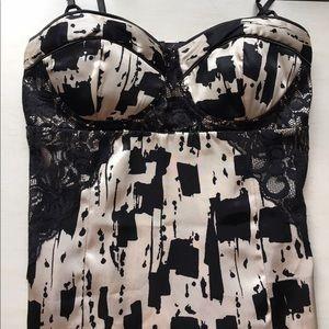 Dresses - brushstrokes bustier dress size XS, S