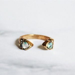 Jewelry | Open opal midi ring