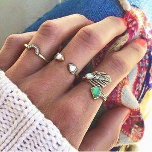 Karis' Kloset Jewelry - Jewelry | Open opal midi ring