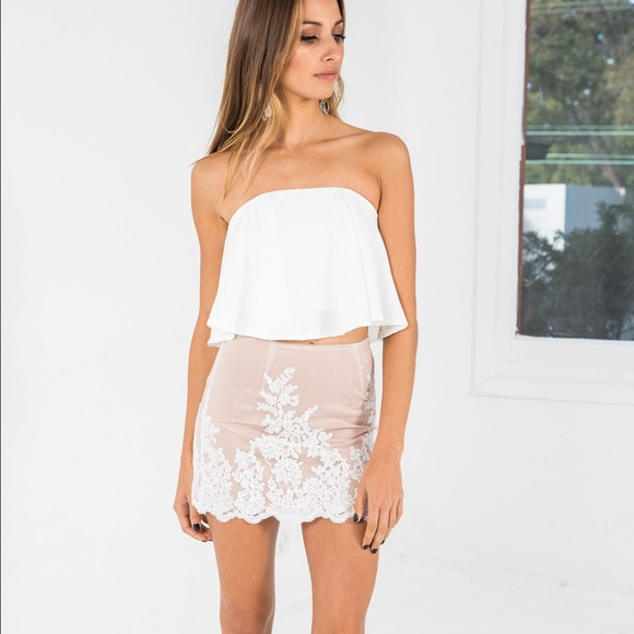 for love and lemons white fox boutique tennessee crop top from lisa 39 s closet on poshmark. Black Bedroom Furniture Sets. Home Design Ideas