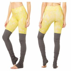ALO Yoga Goddess Legging Zest Indio Stormy Heather