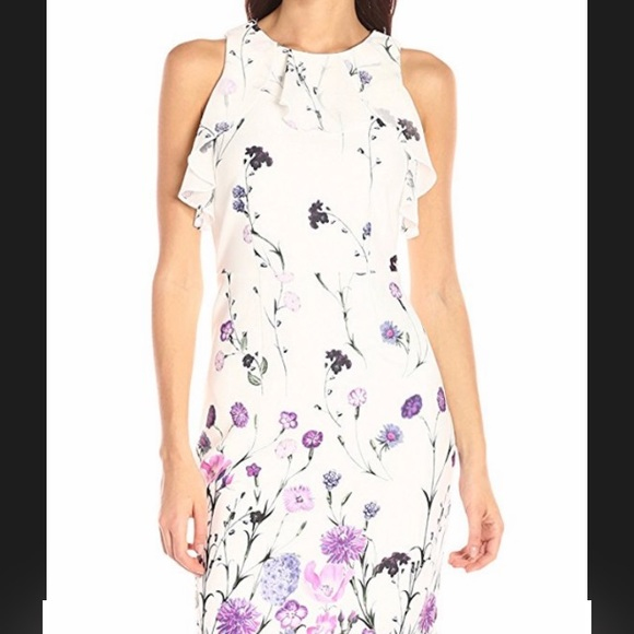 d4160834c3609 Ivanka Trump Dresses | White Floral Dress New | Poshmark