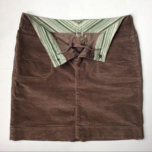 Athleta Dresses & Skirts - Athleta Velour Knee-Length Skirt