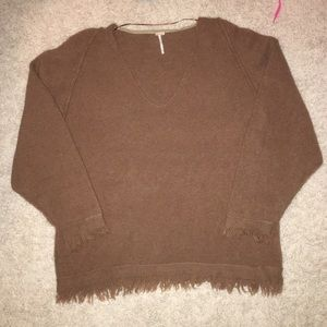 Free People V-Neck Sweater NEVER WORN!!