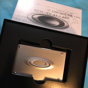 Oakley accessories original icon business card holder brandnew oakley accessories oakley original icon business card holder brandnew colourmoves