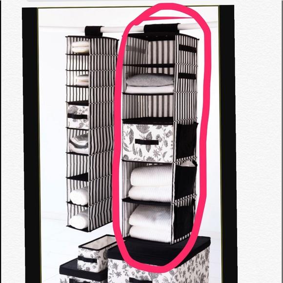 IKEA Hanging Closet Organizer W/ Basket Drawer