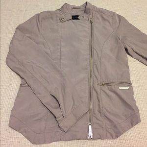 Calvin Klein Jeans Jackets & Blazers - Calvin Klein Jeans gray moto style jacket