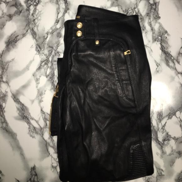 ec18c28a Balmain Pants - BALMAIN X HM LEATHER PANTS