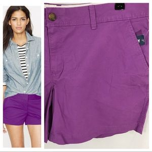 NWT - Old Navy Magenta Chino Short