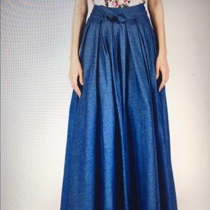 Gracia Dresses & Skirts - Gracia denim skirt long maxi dress