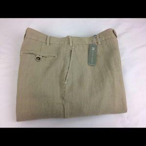 Hickey Freeman Other - NWT Hickey Freeman Linen Pants Italy Sz 36