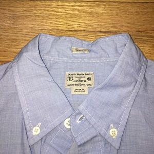 J. Crew Other - Like New Men's Slim Fit J.Crew Blue Button Down