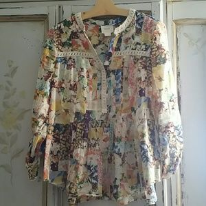 Anthropologie Maeve Top size 6