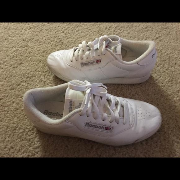 White Reebok Princess Shoes