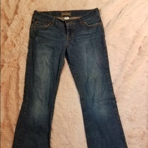 Hollister Women's Size 7 Flare Light Colored Jeans
