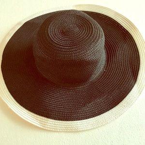 Accessories - Black Brim Hat