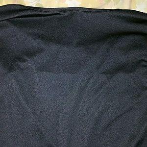 Tops - *Long-Sleeved Shiny & Mesh Top*