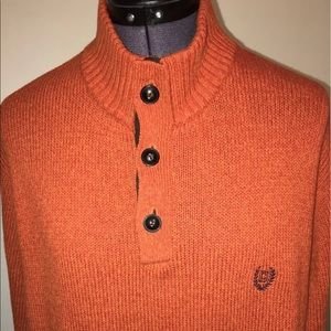 Chaps Other - Men's Chaps sweater with soft felt elbows Large 😎