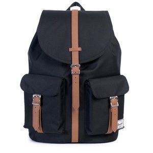 Herschel Supply Company Handbags - NWT HERSCHEL DAWSON BACKPACK BLACK/TAN