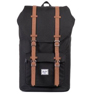 Herschel Supply Company Other - NWT HERSCHEL LITTLE AMERICA BACKPACK- BLACK/TAN