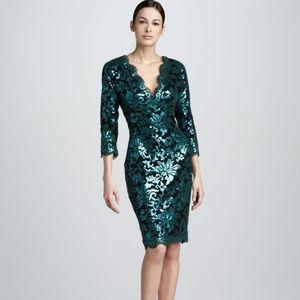 Tadashi Shoji Dresses & Skirts - Tadashi Shoji sequin and lace cocktail dress