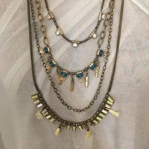 Silpada Jewelry - Silpada KR Neon Layers Necklace NWT
