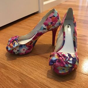 FIONI Clothing Shoes - Multi-color high heels