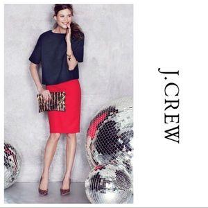 J.Crew Dresses & Skirts - J.Crew No. 2 Red Pencil Skirt NWT