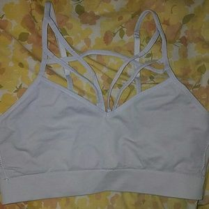 PINK Victoria's Secret Other - *NWOT VS PINK! Gray, Sexy & Strappy Bralette*