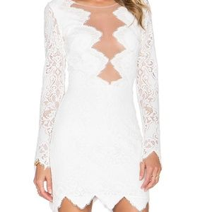 For love and lemons Noir dress
