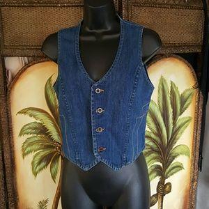 Wrangler Tops - Jean vest