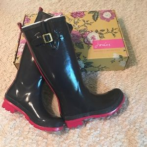 Joules Shoes - NIB Joules Wellies 7