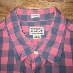 J. Crew Other - Like New Men's Slim Fit Gingham J.Crew Button Down