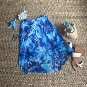 Amy's Closet Other - Beachy 🌊 High low skirt