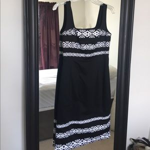 WHBM Embroidered Dress