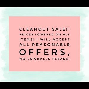 Other - CLEANOUT SALE!