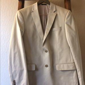 John Varvatos Other - EUC John Varvatos Sand Blazer/Suit Jacket Size 38R