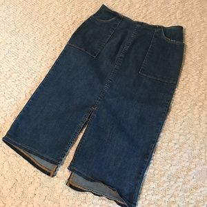 whowhatwear Dresses & Skirts - WhoWhatWear Jean Pencil Skirt 2